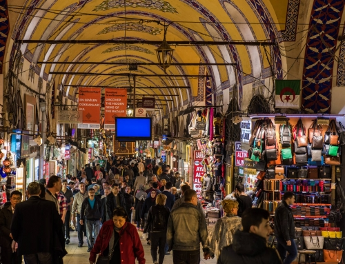 Grand Bazaar and Spice Bazaar in Istanbul