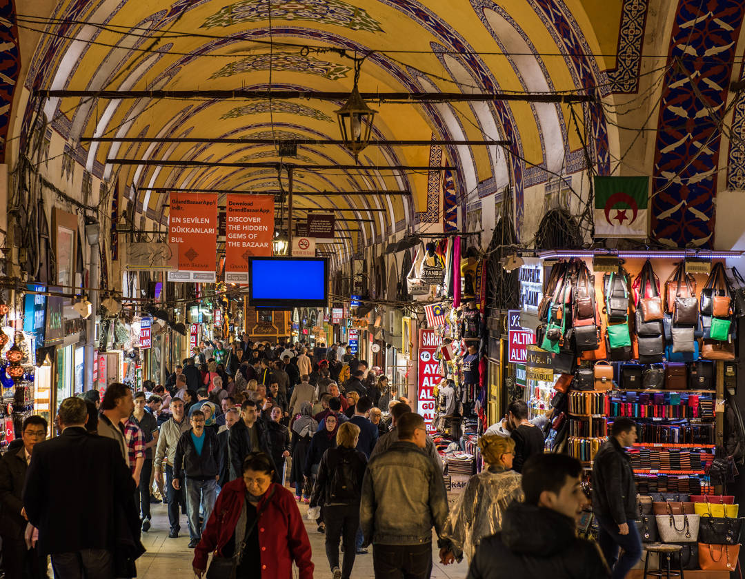 Istanbul - Visit amazing Grand Bazaar and Spice Bazaar