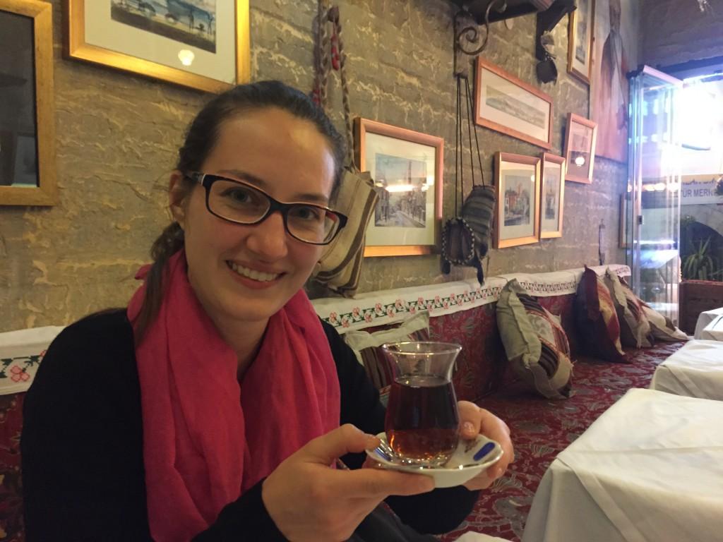 V tureckej reštaurácii