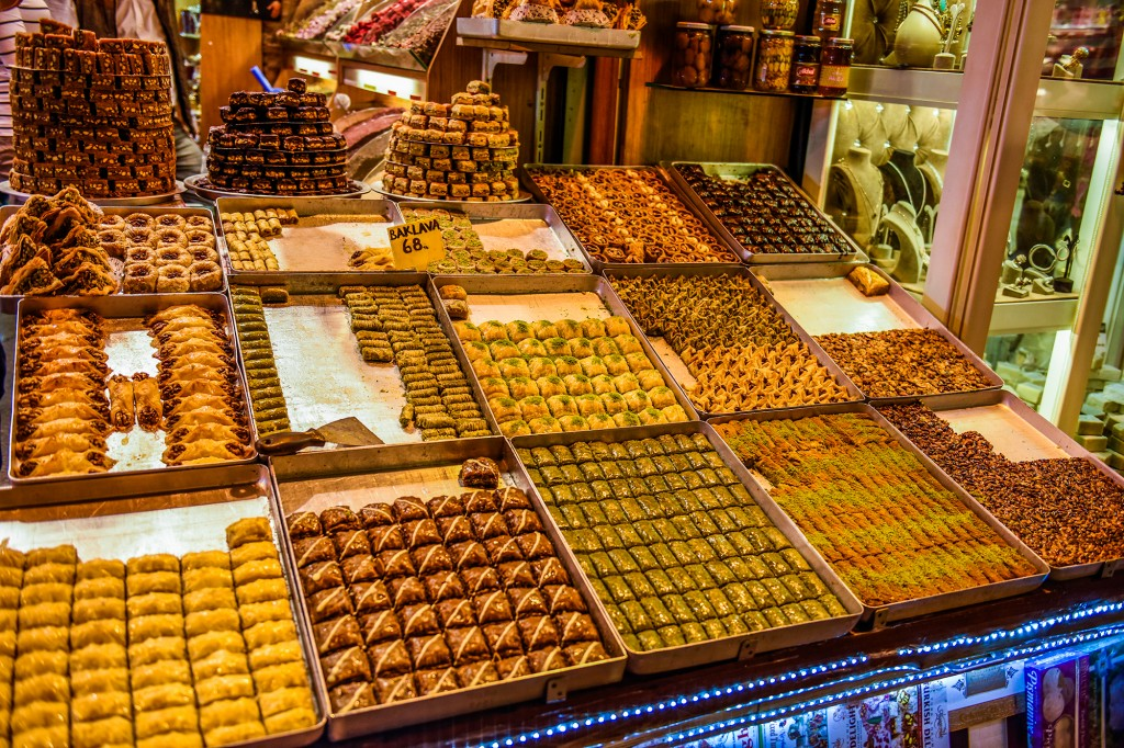 Istanbul - turkish delights