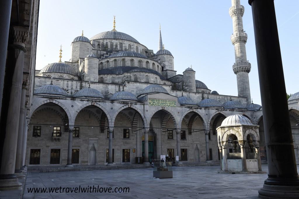 Nádvorie Modrej mešity