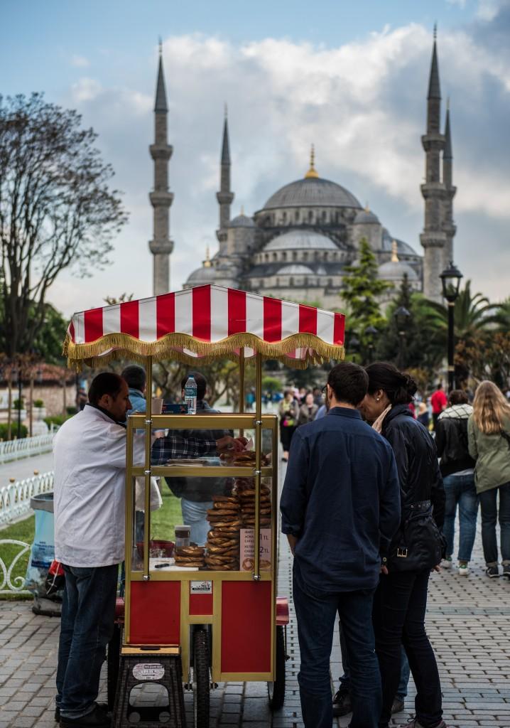 Istanbul - Sultan Ahmet park