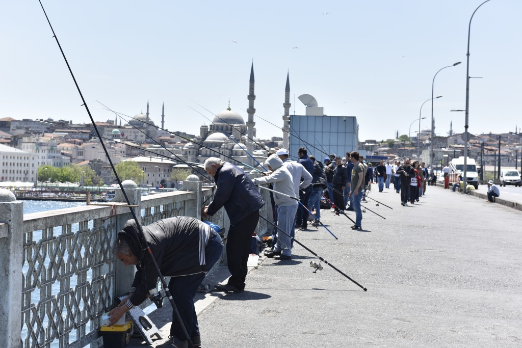 Rybári na Galatskom moste