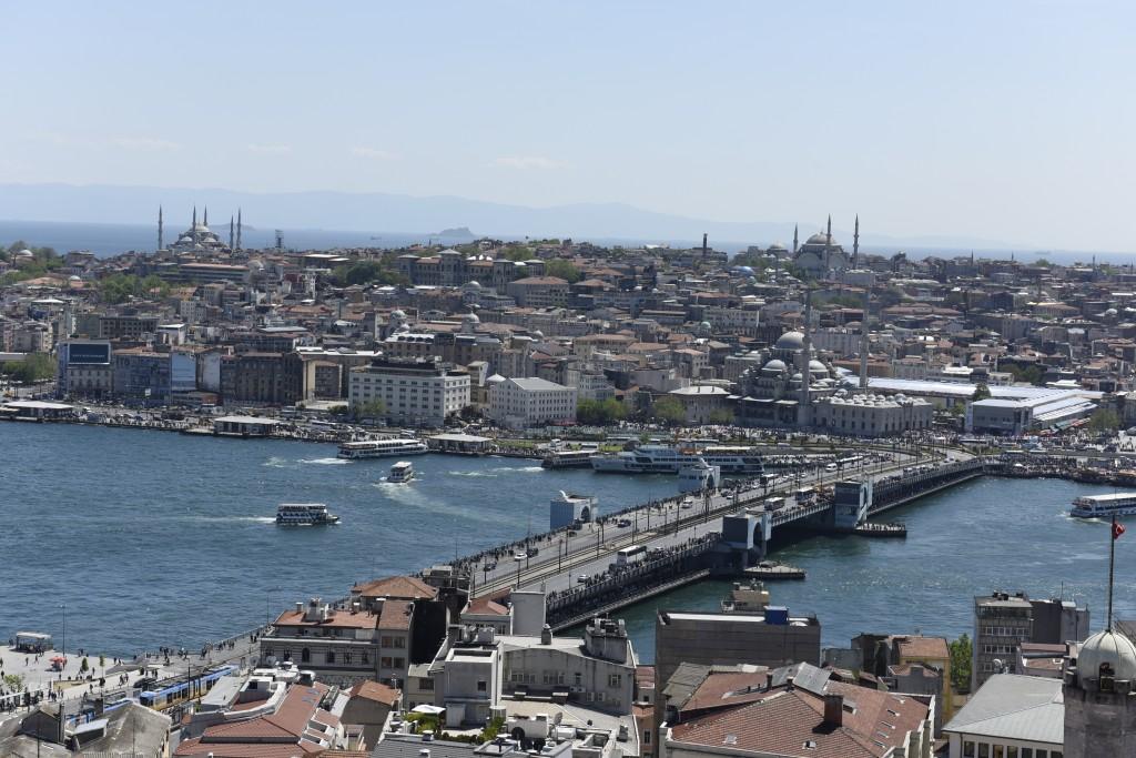 Pohľad z Galatskej veže