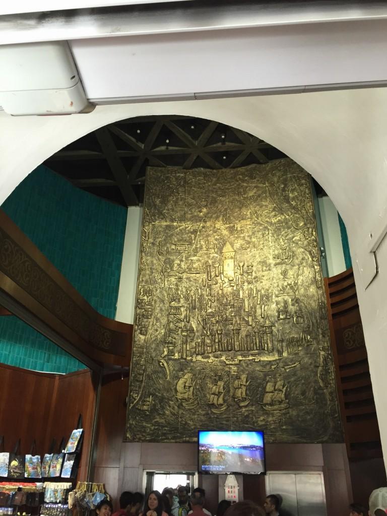 Galatská veža v Istanbule