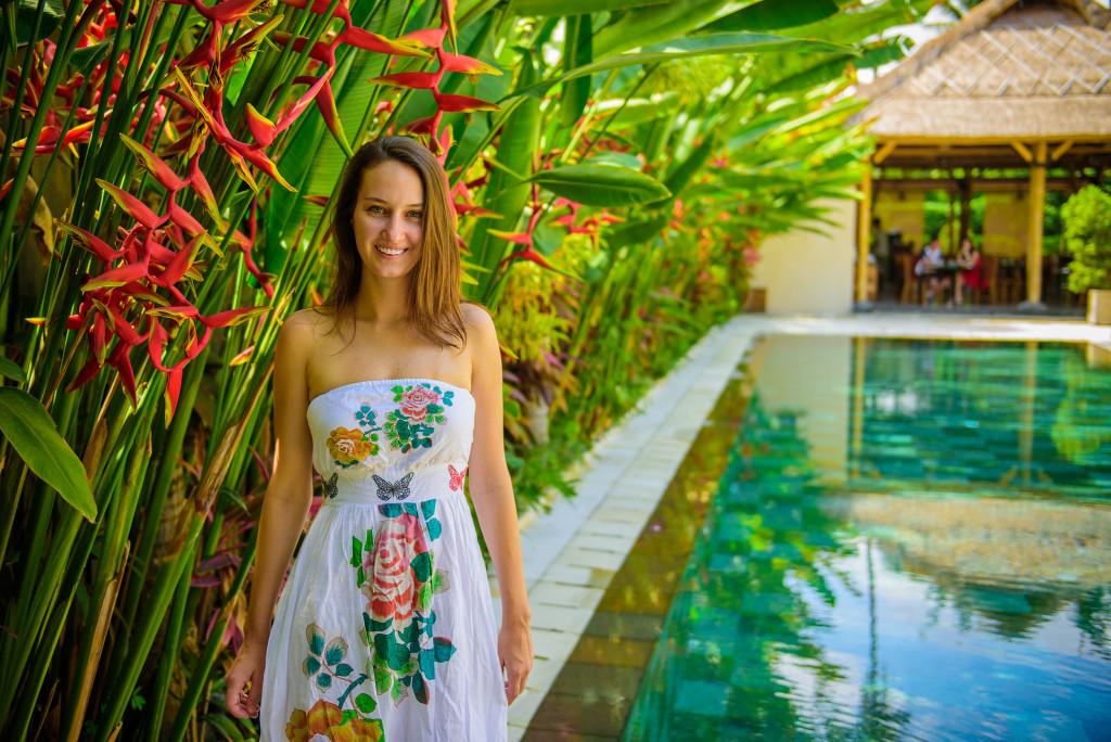 Lenka na Bali