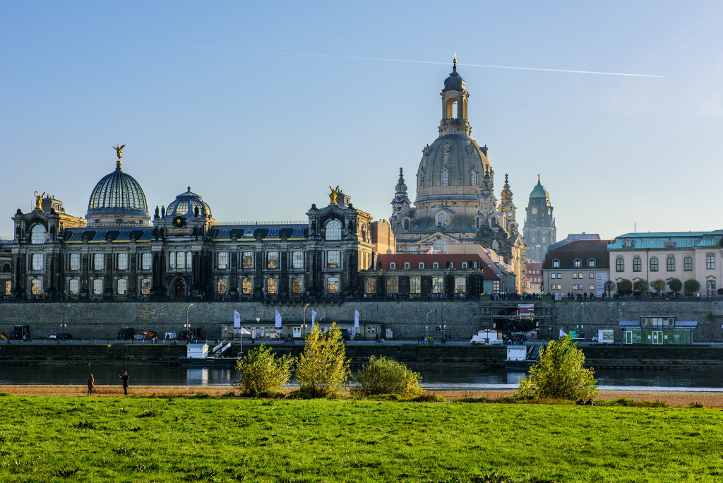 View of Dresden's old town