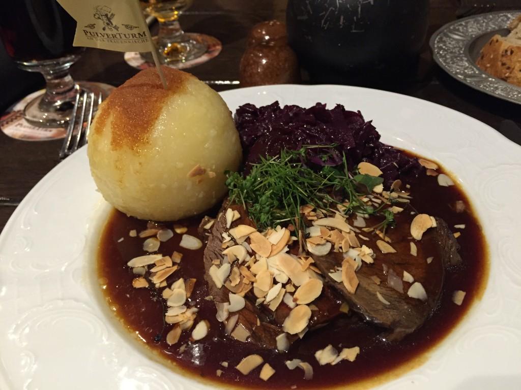 Reštaurácia Pulverturm, Drážďany, Nemecko