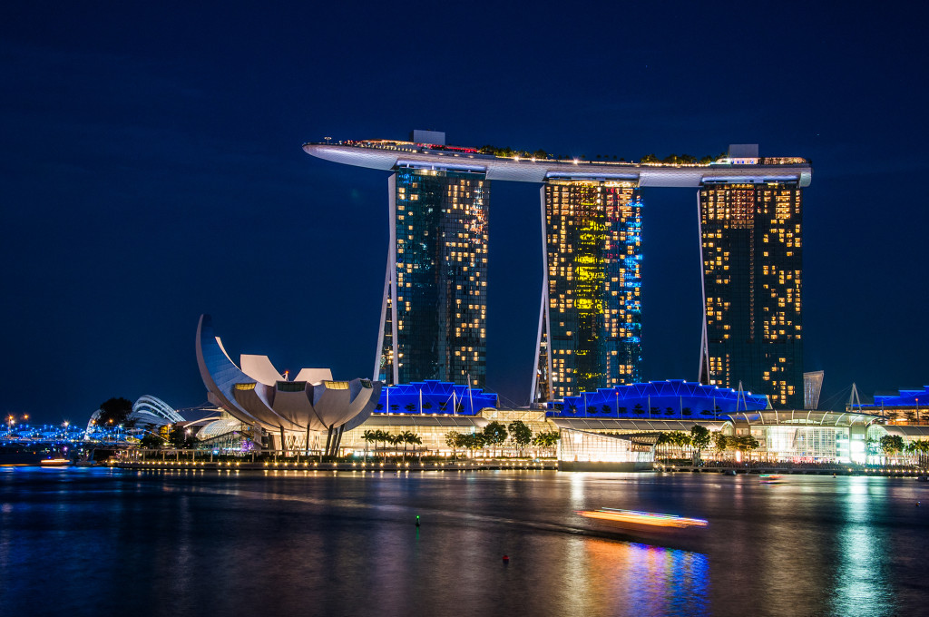 7 things what to see in singapore in only one day for Marina bay sands swimming pool entrance fee