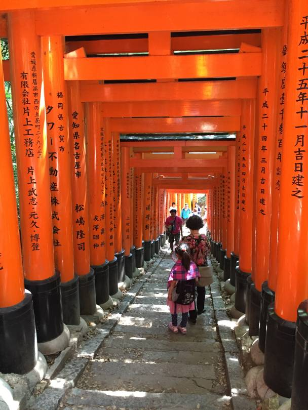 Fushimi Inari-taisha, Kjóto, Japonsko