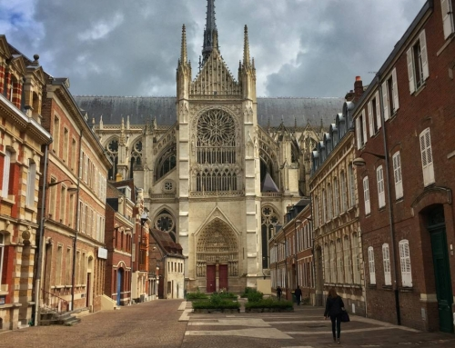 France: Amiens, cathedral and memories on childhood