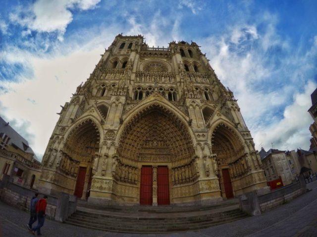 katedrála v Amiens 2016