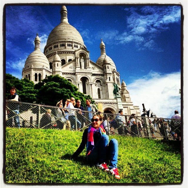 Bazilika Sacre Coeur, Montmartre, Paríž