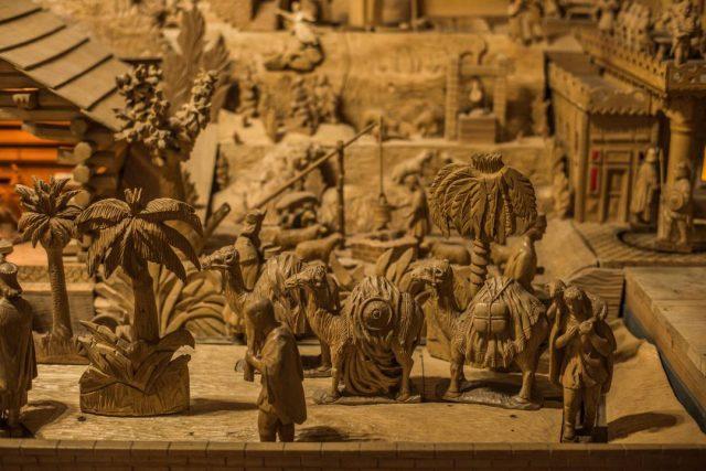 drevený betlehem v Terchovej