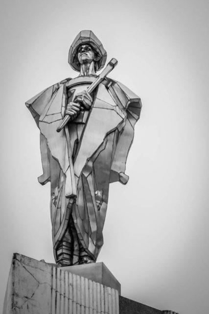 Terchová socha Jánošíka