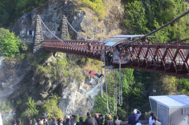 bungee jumping kawarau bridge