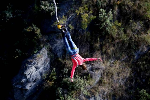ako skočiť bungee jumping