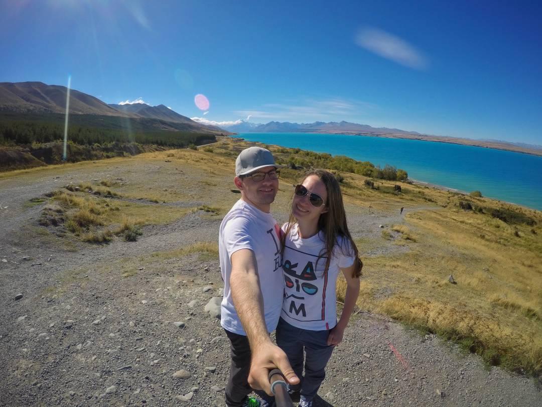 Lake Pukaki, Nový Zéland
