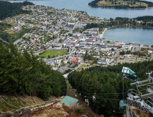 Nový Zéland – Queenstown, hlavné mesto adrenalínu