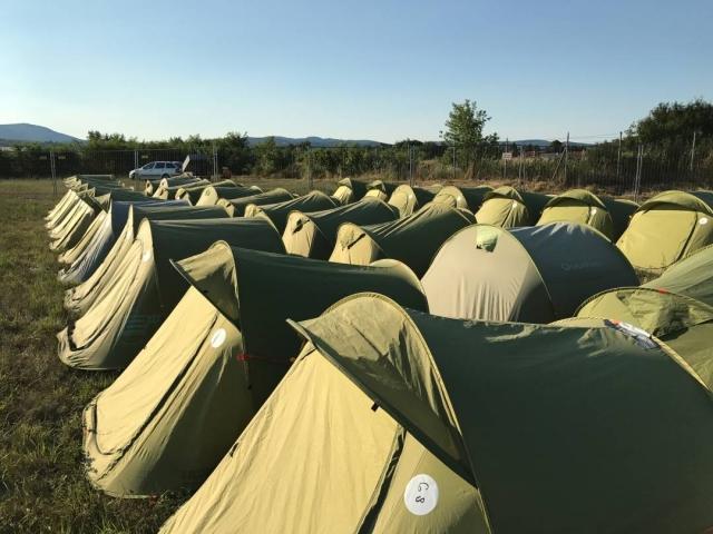 Stanový hotel Tent Inn Pohoda