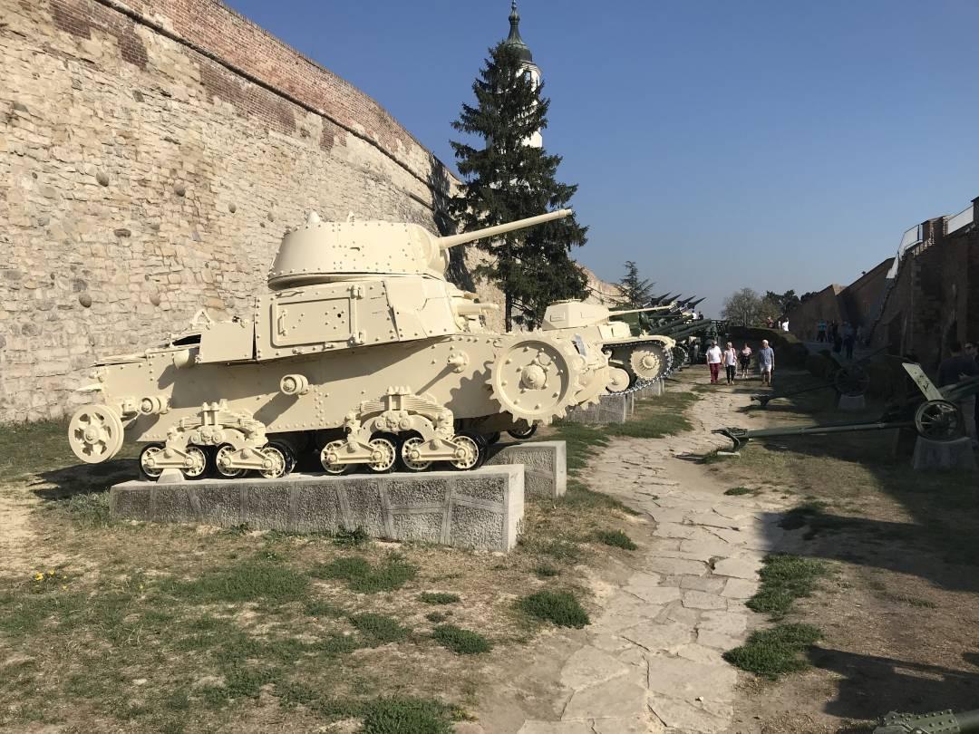 Military museum, Belgrade
