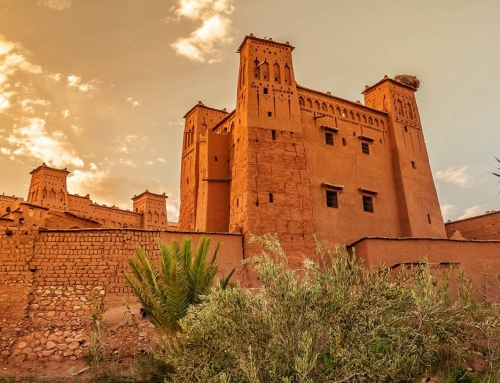 Maroko: Ait Benhaddou – hlinené mesto