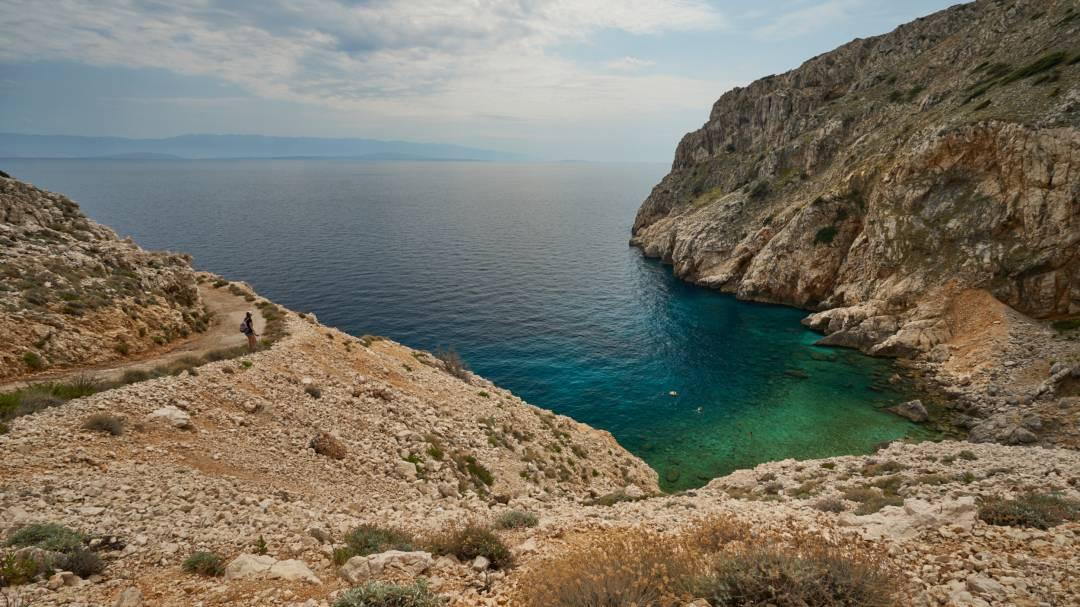 cres mali bok plaz chorvatsko